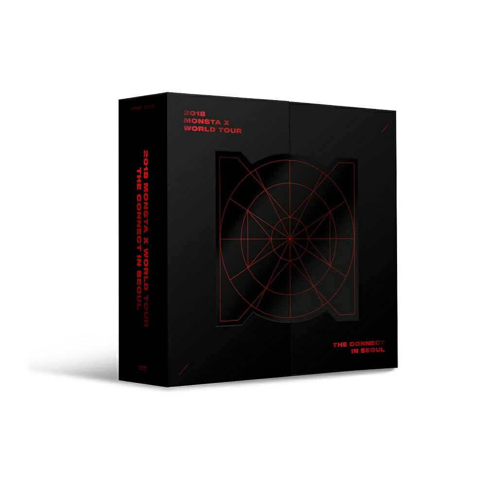 MONSTA X - 2018 MONSTA X WORLD TOUR THE CONNECT DVD