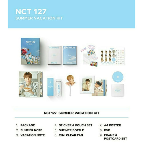 NCT 127 SUMMER VACATION KIT