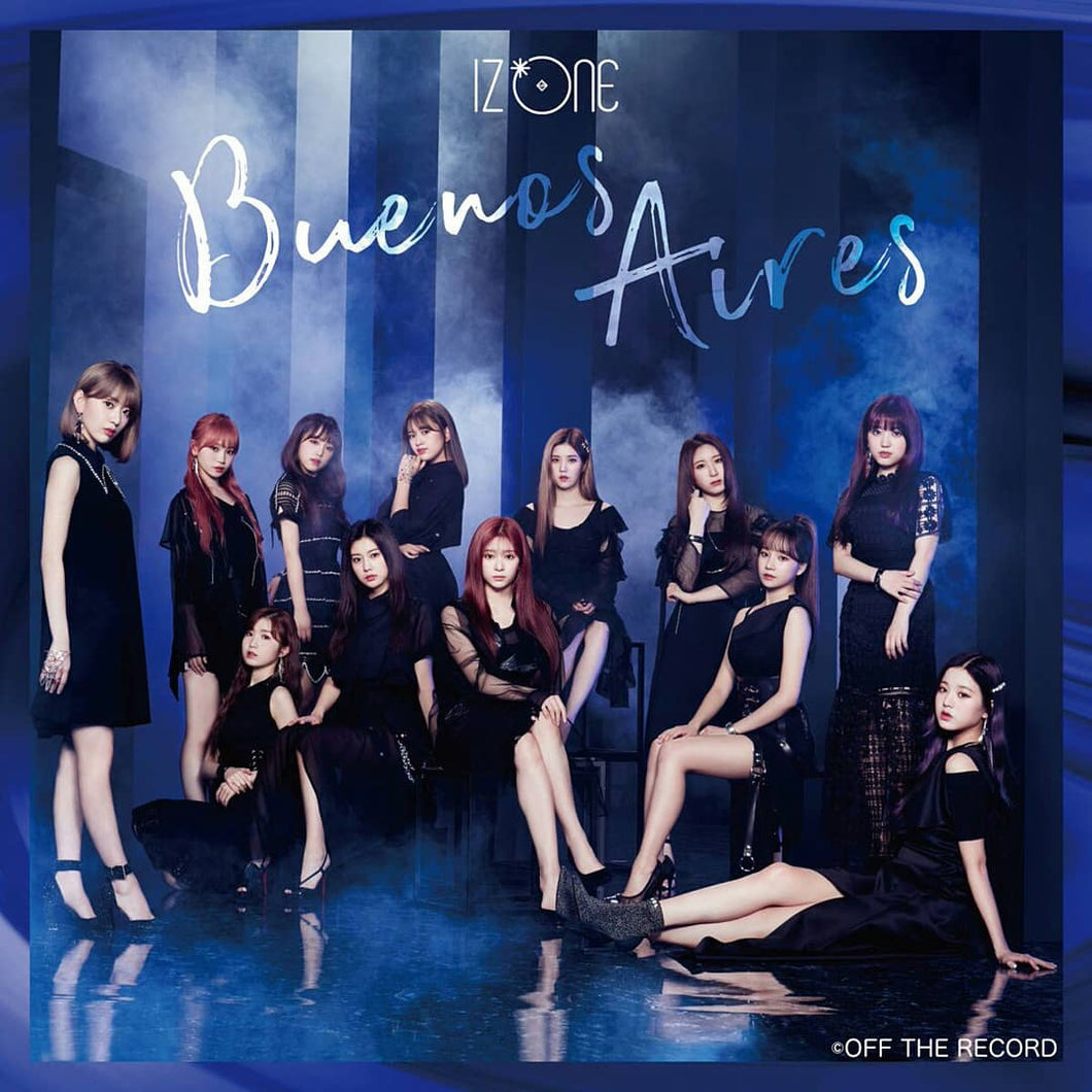 IZ*ONE 2nd Japan Single Album - Buenos Aires (CD+DVD) [Type B]