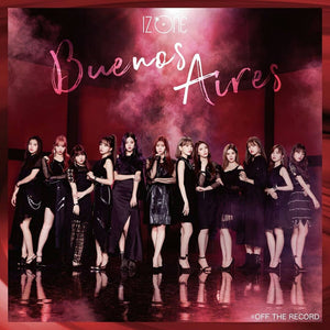 IZ*ONE 2nd Japan Single Album - Buenos Aires (CD+DVD) [Type A]