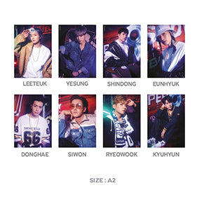 Super Junior SS8 Official Goods - Poster