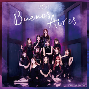 IZ*ONE 2nd Japan Single Album - Buenos Aires (WIZ*ONE FC LE)