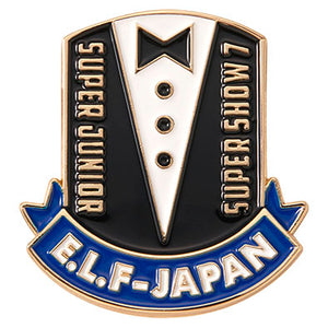 SUPER JUNIOR - SUPER SHOW 7 JAPAN OFFICIAL GOODS PIN (ELF JAPAN Limited)