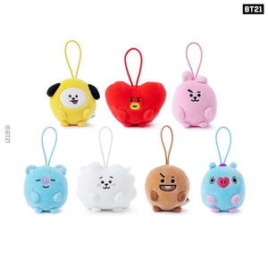 BTS - BT21 X LINE FRIENDS Pongpong Mini Standing Doll (6cm)