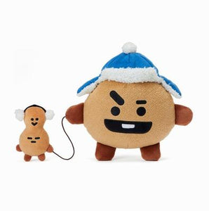 BTS - BT21 X LINE FRIENDS Winter Standing Doll