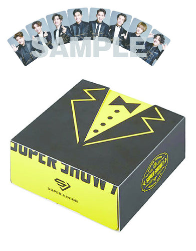 SUPER JUNIOR - SUPER SHOW 7 JAPAN OFFICIAL GOODS Banana Cake with random Trading Card