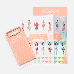 RED VELVET LA ROUGE EVENT MD - Daily Sticker Set