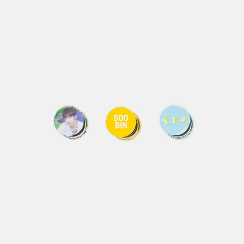 TXT DEBUT MD - Can Badge Set