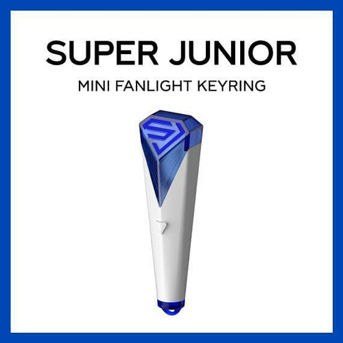 SUPER JUNIOR LIGHTSTICK KEYRING