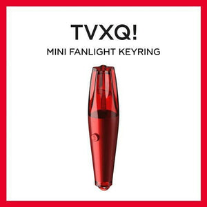 TVXQ MINI LIGHTSTICK KEYRING