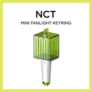 NCT MINI LIGHTSTICK KEYRING