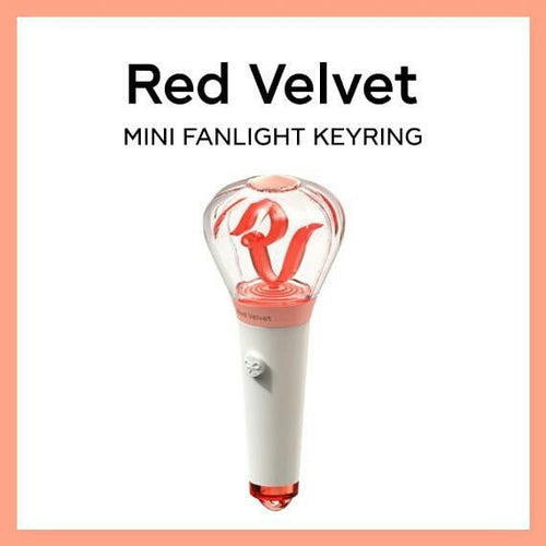 RED VELVET MINI LIGHTSTICK KEYRING