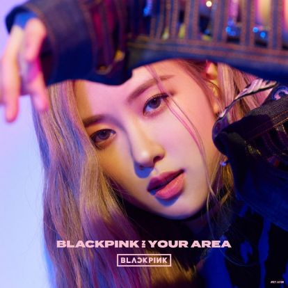 BLACKPINK - BLACKPINK IN YOUR AREA (CD Member Ver)[ROSE]
