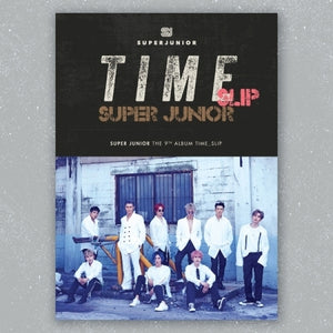Super Junior 9th Album - Time_Slip + Poster