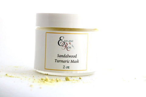 Sandalwood Turmeric Face Mask