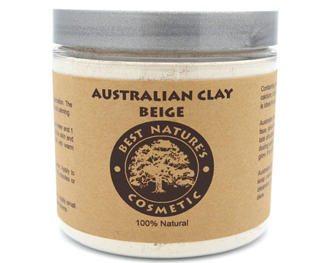 Australian Beige Clay. Detoxify the body and face,
