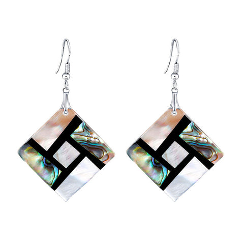 Chic Estilo Noble Stainless Steel Earrings