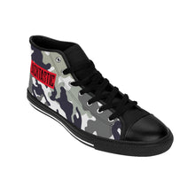 Load image into Gallery viewer, Men's Blacktastic Camo High-top Sneakers