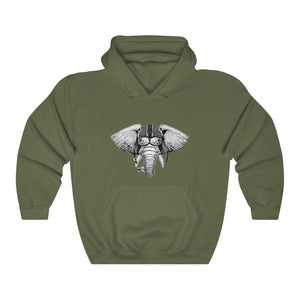 Extrene Eliphant Unisex Heavy Blend™ Hooded Sweatshirt