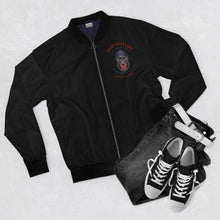 Load image into Gallery viewer, Dead Hustlers Society Men's AOP Bomber Jacket