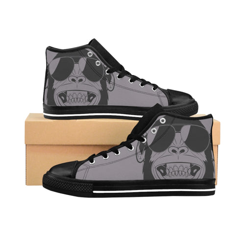 Men's Monkey High-top Sneakers