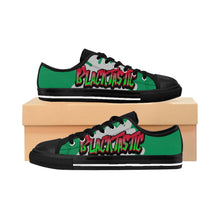 Load image into Gallery viewer, Blacktastic Graffiti Men's Low Cut Sneakers