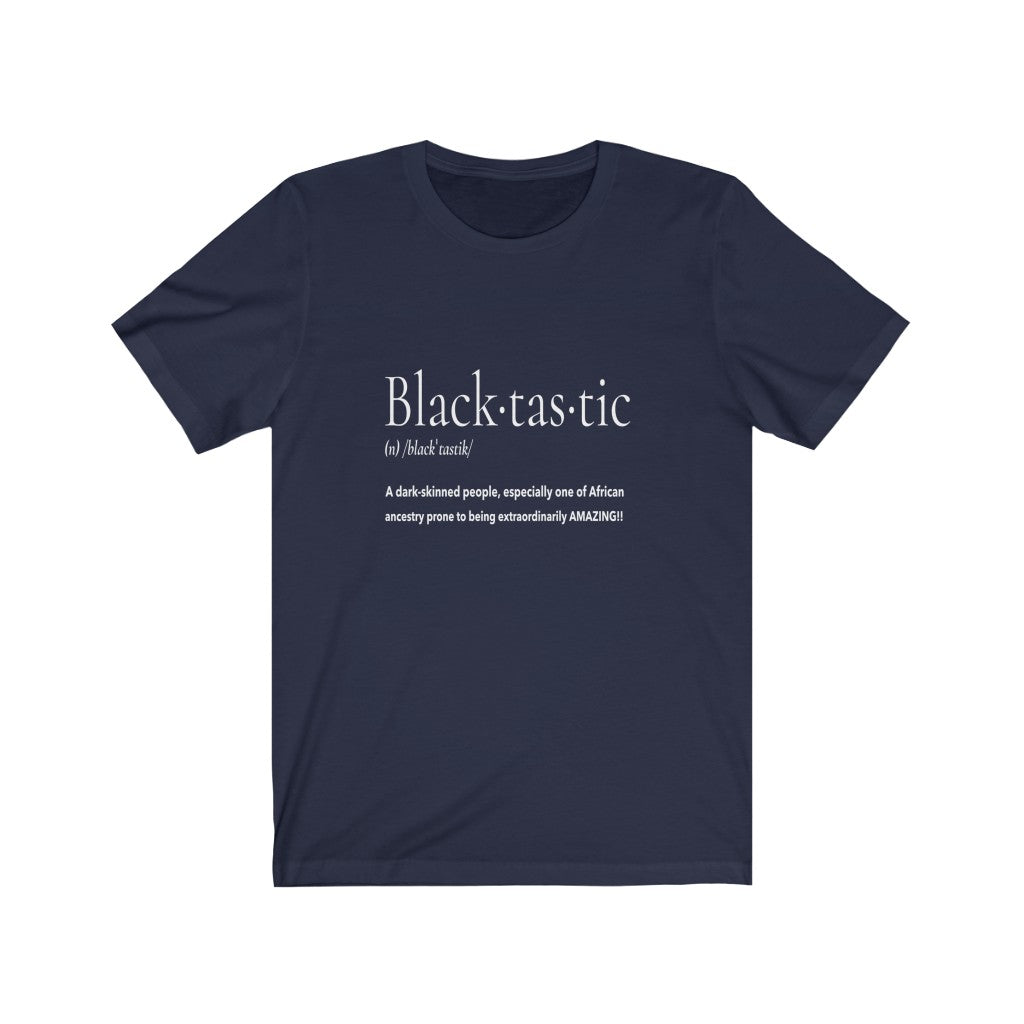 Blacktastic Unisex Jersey Short Sleeve Tee