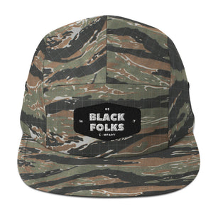Us Black Folks Five Panel Cap