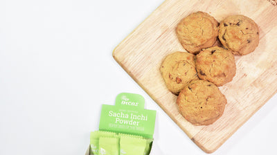 Sacha Inchi Peanut Butter Cookies