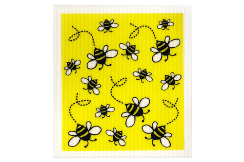 BIODEGRADABLE DISH CLOTH - BEES