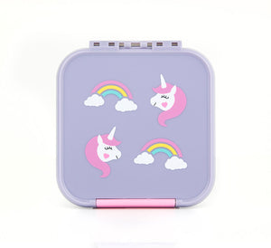 2 COMPARTMENT BENTO BOX UNICORN