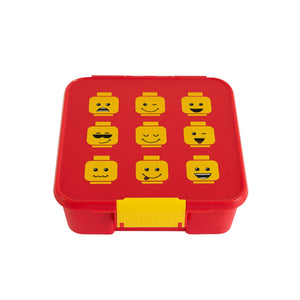 3 COMPARTMENT BENTO BOX LEGO