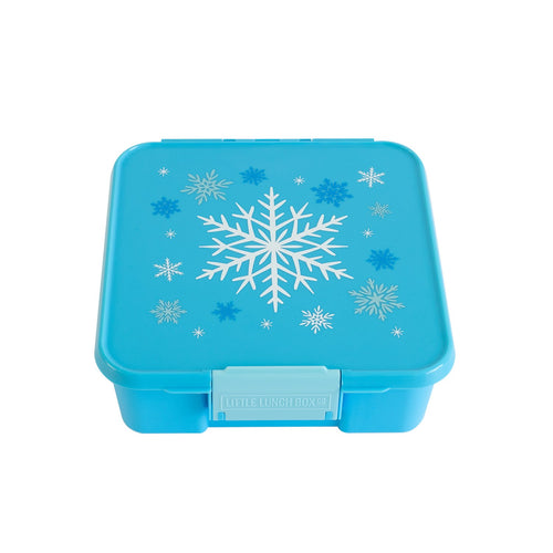3 COMPARTMENT BENTO BOX SNOWFLAKE
