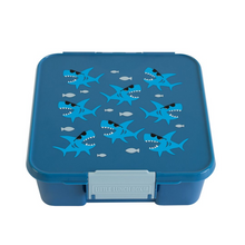 Load image into Gallery viewer, 5 COMPARTMENT BENTO BOX SHARK