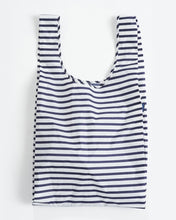 Load image into Gallery viewer, BIG BAGGU REUSABLE SHOPPING BAG SAILOR STRIPE