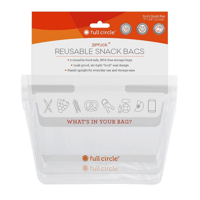 FULL CIRCLE REUSABLE SNACK BAGS