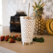 Load image into Gallery viewer, MONTIICO SMOOTHIE CUP - WHITE LEOPARD