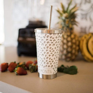 MONTIICO SMOOTHIE CUP - WHITE LEOPARD