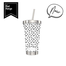 Load image into Gallery viewer, STAINLESS STEEL SMOOTHIE CUP LEOPARD