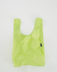 STANDARD BAGGU REUSABLE SHOPPING BAG LIME
