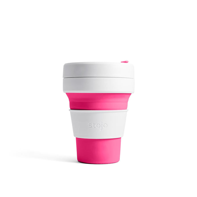 STOJO POCKET COLLAPSIBLE CUP PINK