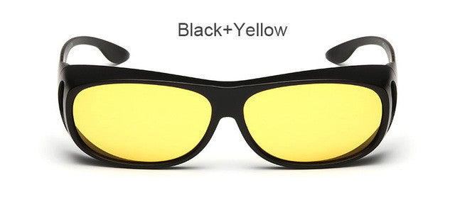 Polarized Men Outdoor Sport Sun Glasses With  Night Vision for Driving
