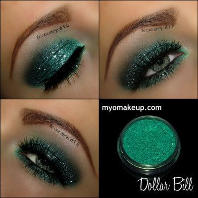 MYO Dollar Bill Eyeshadow Pigment Mica Loose Powder Cosmetic Makeup