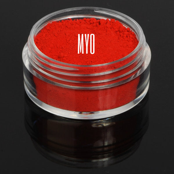MYO Vamp Matte Red Eyeshadow Pigment Mica Loose Powder Cosmetic Makeup 10 Gram Jar