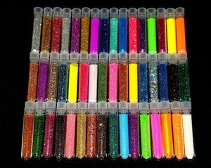 Myo Loose Glitter Tubes Sampler Collection Set