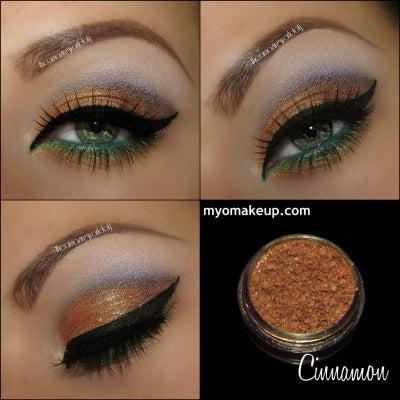 Myo Cinnamon Eyeshadow Pigment Mica Cosmetic Loose Powder Mineral Makeup