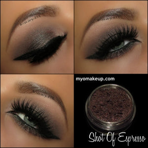 Myo Shot Of Espresso Eyeshadow Pigment Mica Cosmetic Loose Powder Mineral Makeup