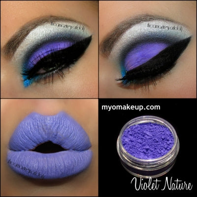 MYO Violet Nature Matte Purple Eyeshadow Pigment Mica Loose Powder Cosmetic Makeup