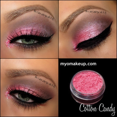 Myo Cotton Candy Eyeshadow Pigment Mica Cosmetic Loose Powder Mineral Makeup