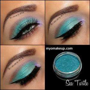 Myo Sea Turtle Eyeshadow Pigment Mica Cosmetic Mineral Loose Powder Makeup